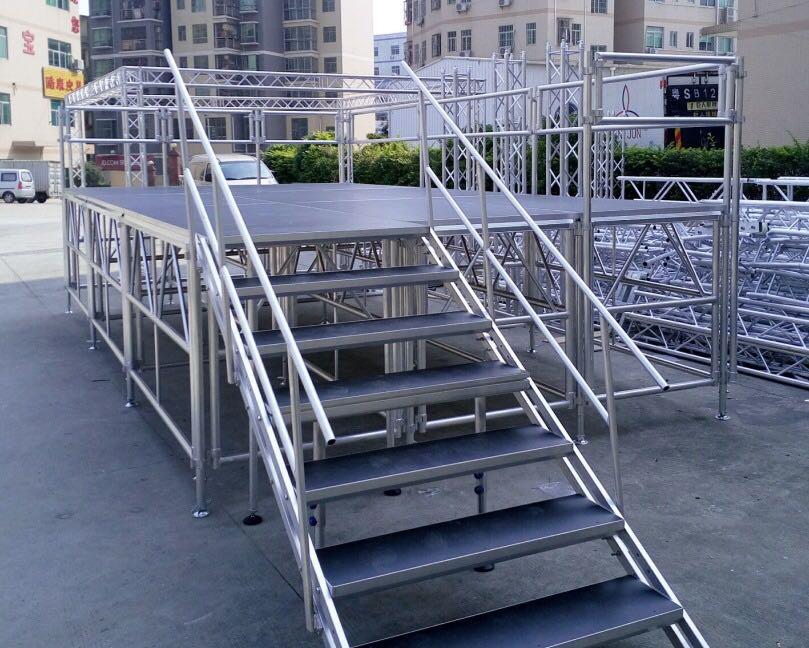 Mobile Stage – Rent stage risers stage platforms